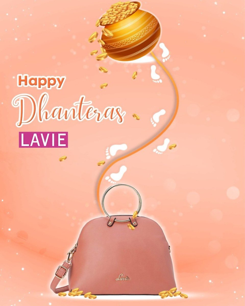 Shimmer with silver, shine with gold!  Team Lavie wishes you a #HappyDhanteras!  x #Dhanteras #Festiveseason #bagfullofgold #goldseason #festivevibing #happydiwali #lightitup #lavieloving #fickleisfun #anushkasharma