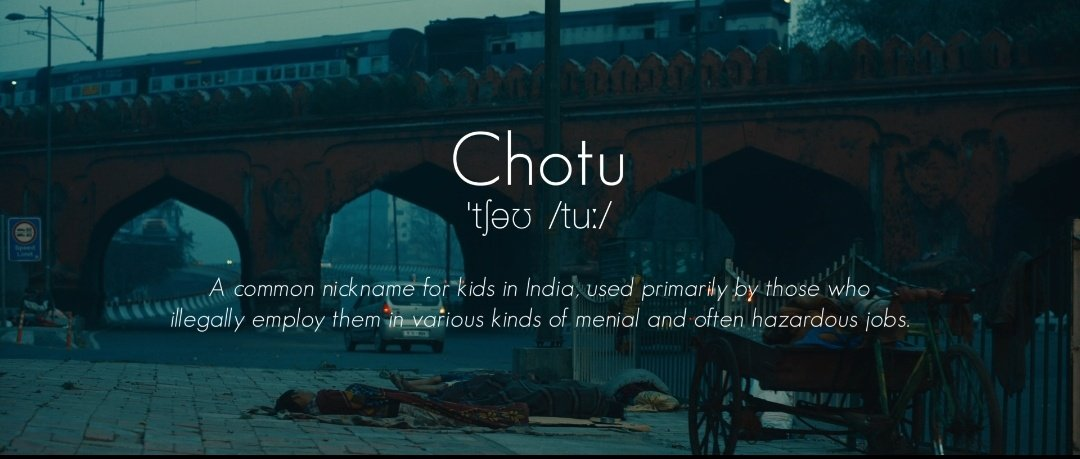 In India, 1 out of 11 children works as a child labourer. For him, Children's Day is just another day of suffering. But you can help. Report cases of child labour on 1800 419 8588 and bring back #ChotuKaChildhood  Watch Chotu's story here:  @DentsuImpact