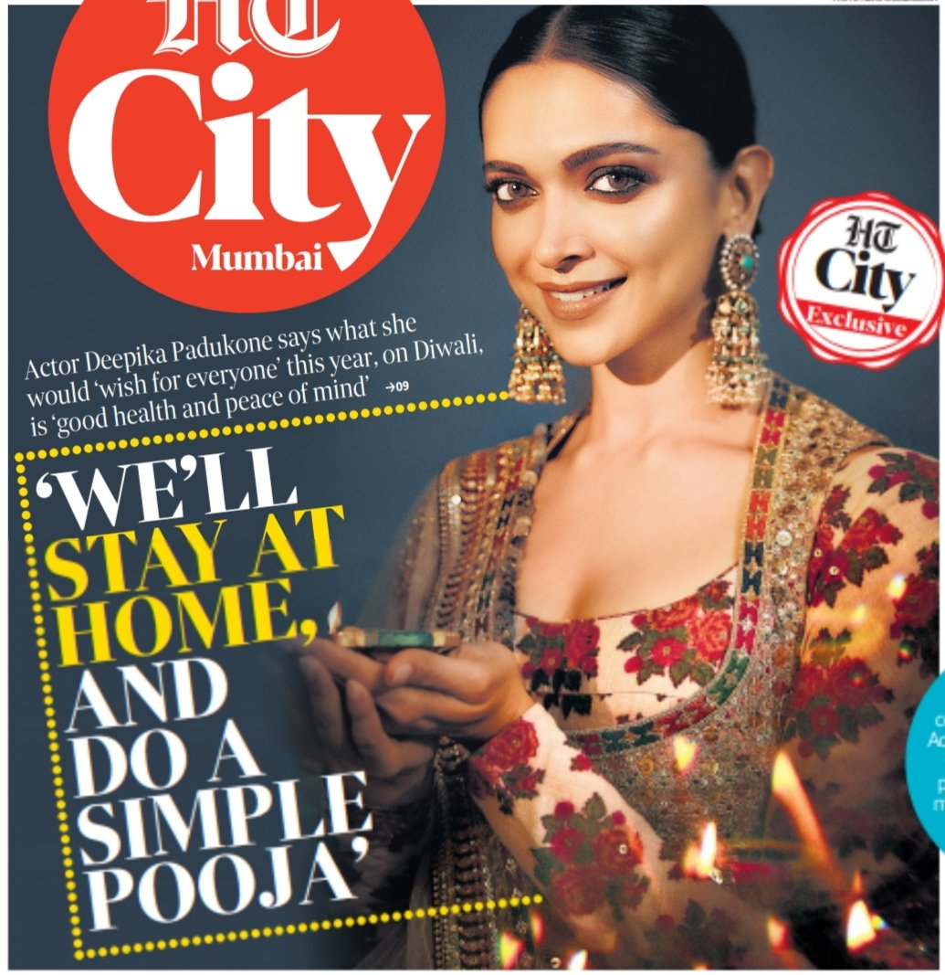 Stunning, graceful, classy !! 😇🌟✨ @deepikapadukone #HappyDiwali #Diwali #Diwali2020