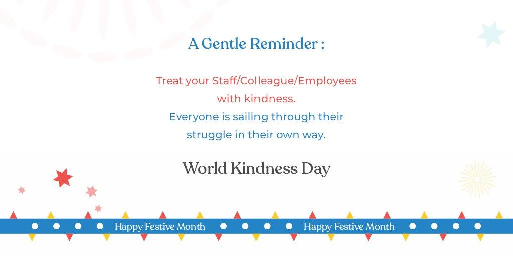 RT @Cityfurnish1: Kindness can do magic.  #worldkindnessday https://t.co/HgibRWfMyI
