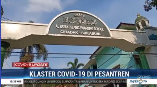 #COVID19UpdateMetroTV 251 santri dan 3 orang staf pengajar di pondok pesantren Al-Bayan Cibadak, Sukabumi, hingga saat ini masih menjalani isolasi mandiri selama 14 hari ke depan. Hal ini dilakukan untuk mengantisipasi penyebaran COVID-19 di lingkungan pesantren. #MetroTV20