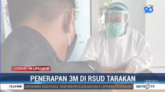 #COVID19UpdateMetroTV RSUD Tarakan Jakarta turut mendukung pemerintah dalam mencegah penularan COVID-19 dengan menerapkan kebijakan 3M secara ketat. Streaming:  #MetroTV20
