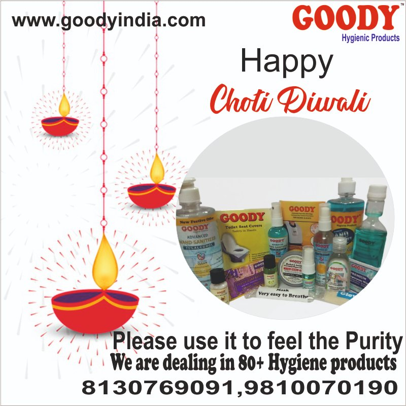 Happy Choti Diwali from Goody India   https://t.co/GxMfEyiivS https://t.co/AeCwi4IDgR