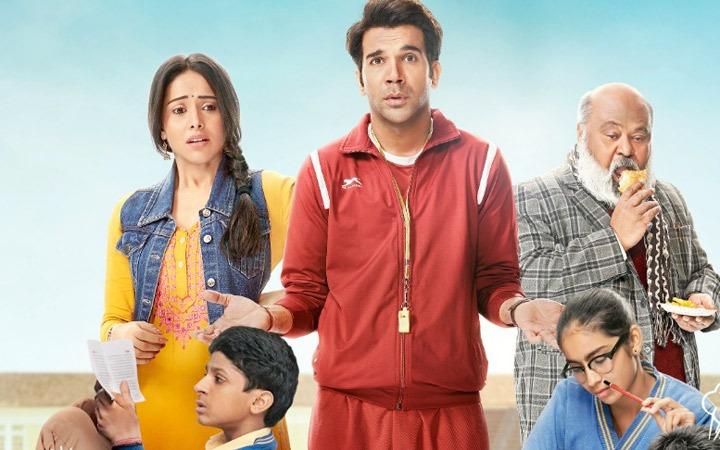 Chhalaang Movie Review: स्ट्रॉन्ग मैसेज के साथ परफ़ेक्ट मनोरंजन करती है छलांग । रेटिंग - 3.5 स्टार्स  #ChhalaangReview: #CHHALAANG @RajkummarRao @ChhalaangFilm @Nushrratt  @mehtahansal  @ajaydevgn @luv_ranjan @gargankur #ChhalaangOnPrime