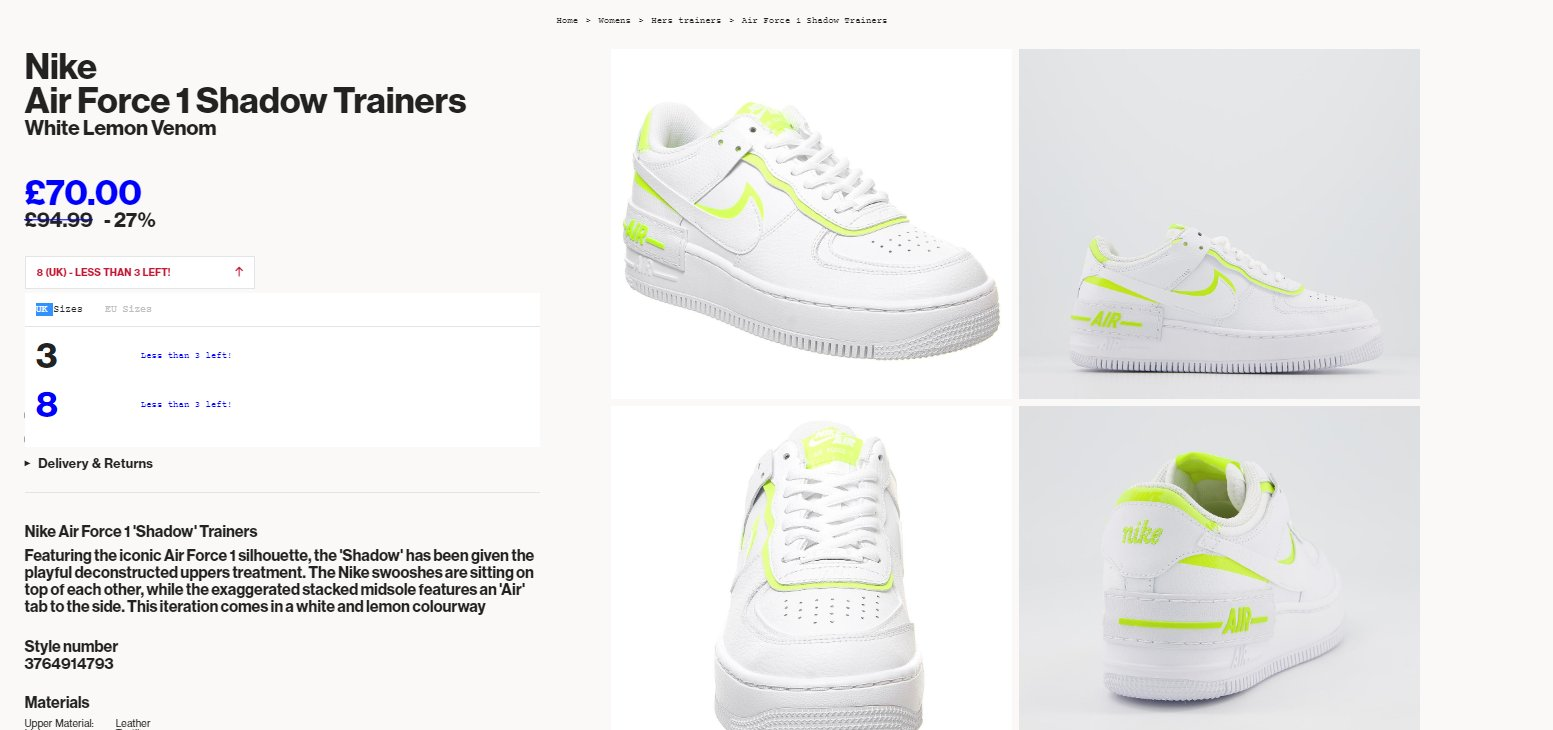 Ballin Sneaks On Twitter Wmns Nike Air Force 1 Shadow Lemon Venom Couple Sizes For 27 Off On Offspring Https T Co E10zrldlse Layered pieces add rich texture. twitter