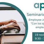 Image for the Tweet beginning: ¡No te pierdas el seminario