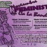 Image for the Tweet beginning: Noviembre Feminista en @Ca_LaBandida. Transmitiremos