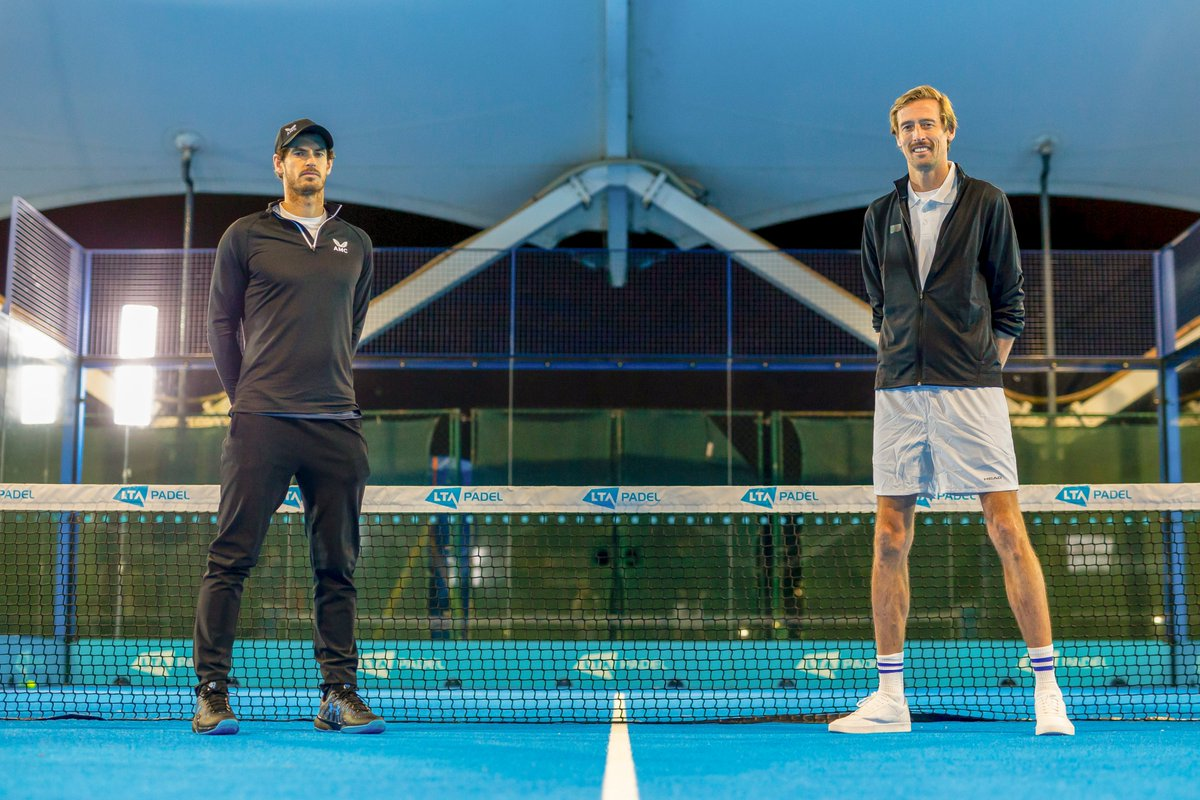 So @petercrouch challenged me a while back to a game of tennis, apparently he used to be quite good. Not sure he was quite prepared for padel tennis though... He tried every trick in the book to try and get the win... tune in to @BBCCiN tonight to find out how he got on....