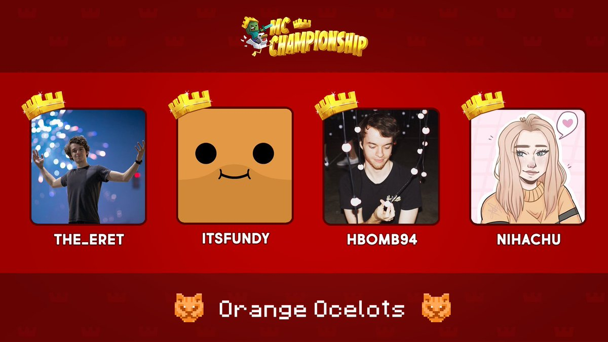 🚨 Team update announcement 🚨  @Nihaachu will be replacing @KarlJacobs_ on team Orange Ocelots for tomorrow's event 👑