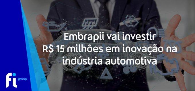 A Embrapii vai selecionar cinco novos centros de  para integrar rede de  e desenvolver projetos ....