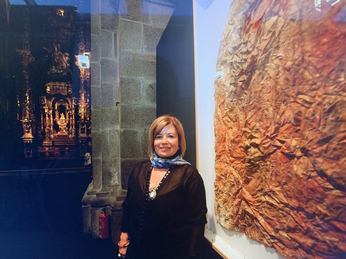 Lembrança da exposição em Santiago de Compostela !