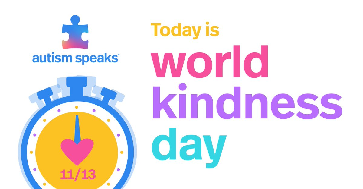 💙 Today is World Kindness Day!   💖 Help us hit our goal of 1 Million acts of kindness! We are so close!   💛 Head to  to learn how you can help. #KindnessCounts