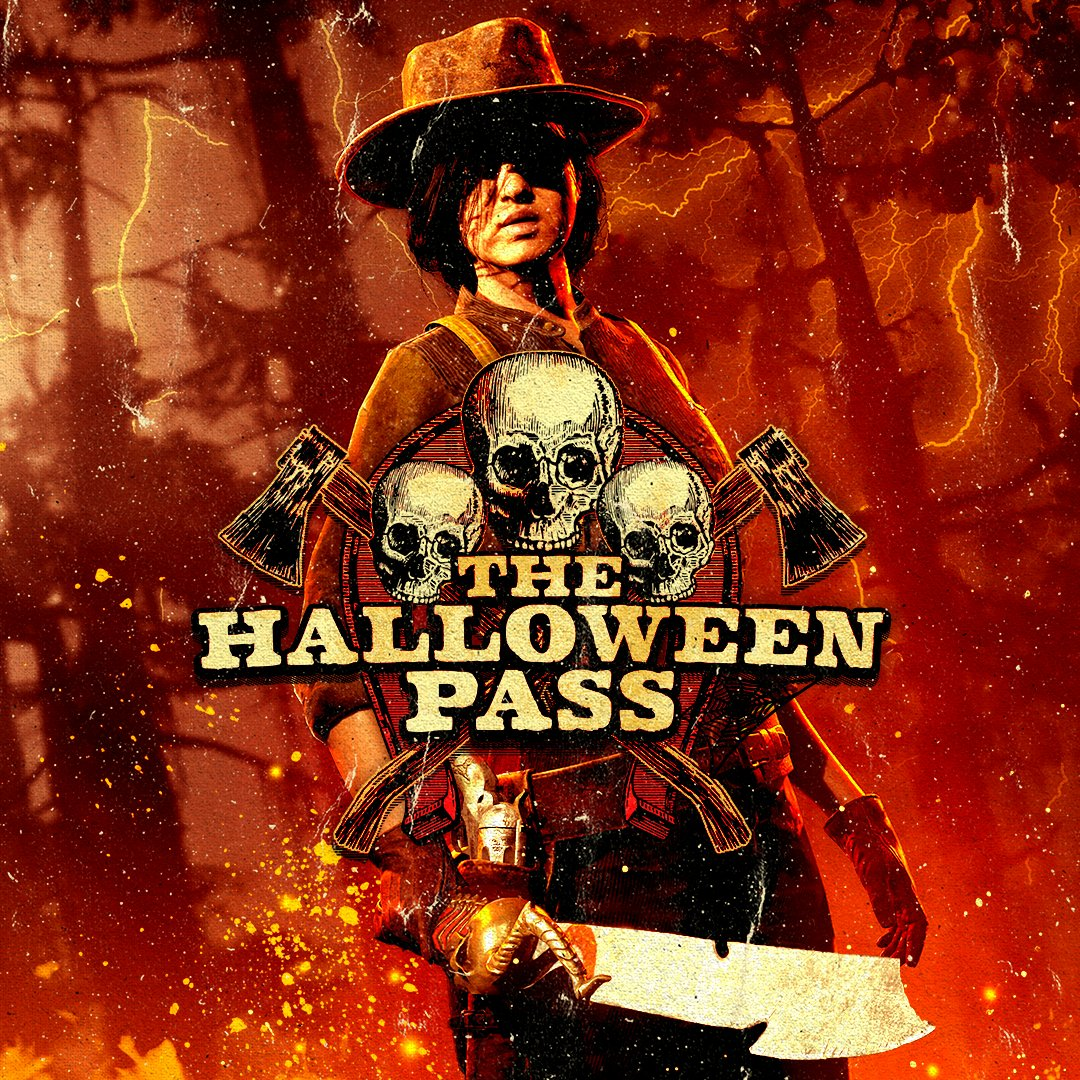 The Red Dead Online Halloween Pass is being extended until November 30th.  Don't miss out, before spine-chilling rewards such as the Zavala Machete cross over into the stuff of myths and stories told 'round the campfire in the dead of night.