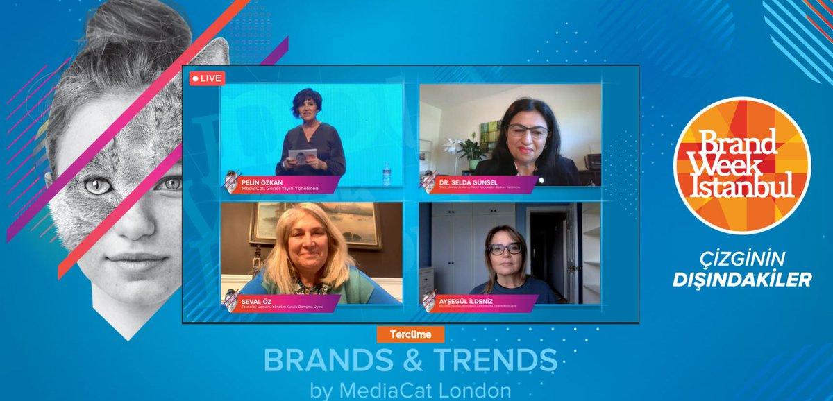 #BrandWeek2020 Teknoloji ve Global Başarılar oturumu ile devam ediyor.