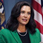 Image for the Tweet beginning: HEALTH REPORT MICHIGAN COVID-19 Michigan Gov. Whitmer