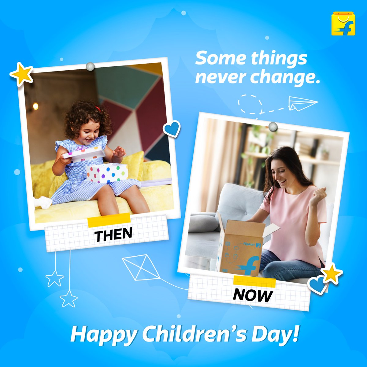 Somethings never change. Happy Children's Day to the inner child in all of us.