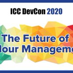 Image for the Tweet beginning: Don't miss ICC DevCon 2020's