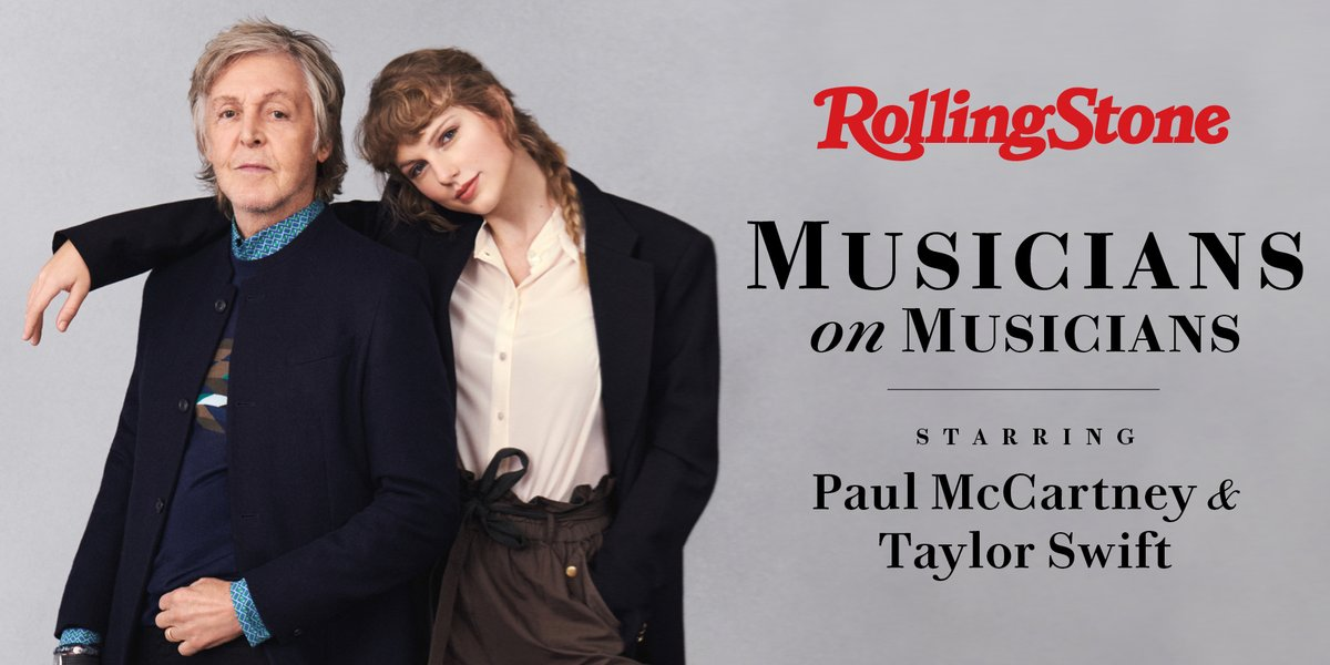 For the cover of our Musicians on Musicians issue, Paul McCartney and Taylor Swift sat down for a conversation about songwriting, making albums at home, and what they've learned during the pandemic. Photography by Mary McCartney