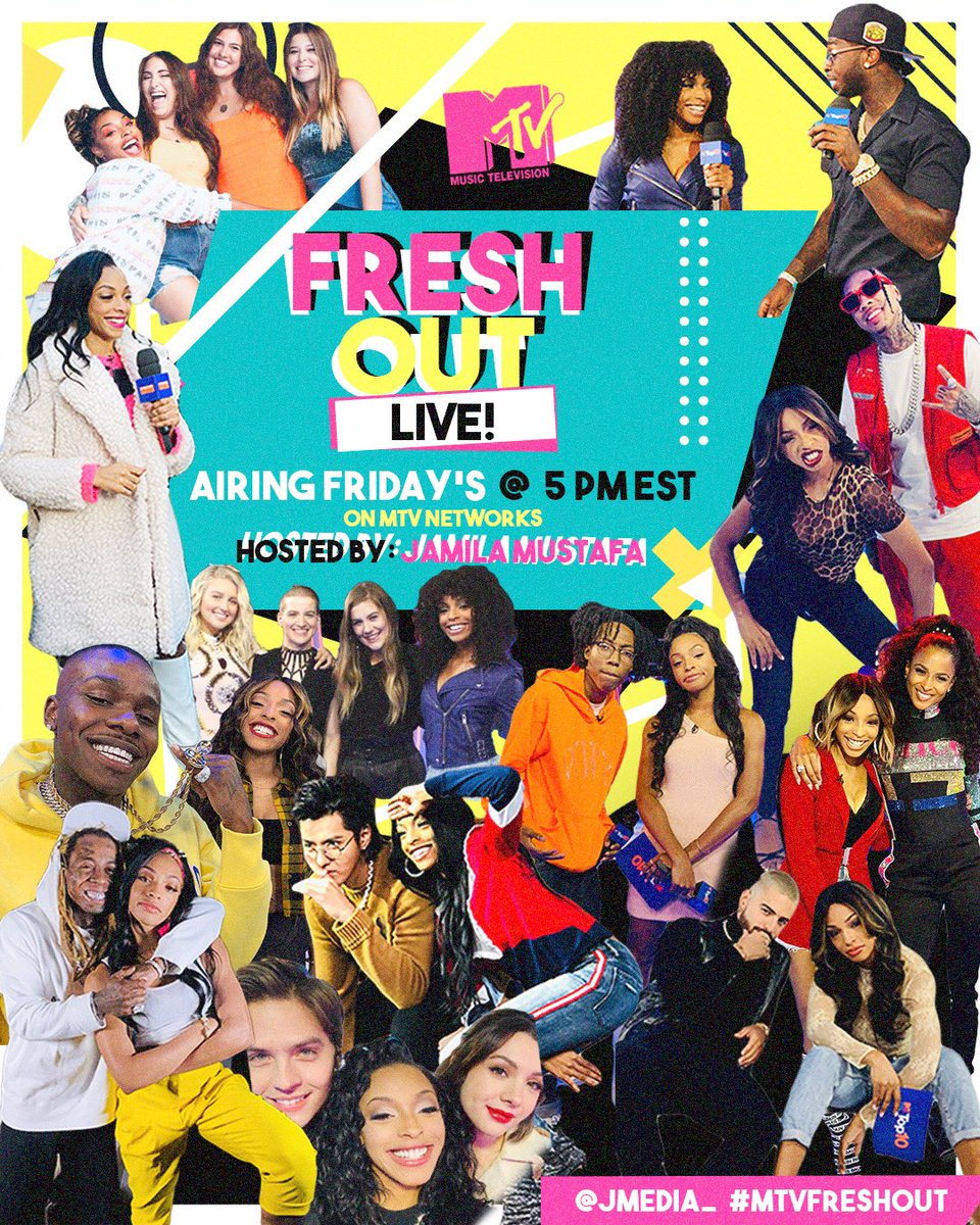 Tune in at 5pm today to see what #MTVFreshout has in store 😅📺 only on MTV Networks!