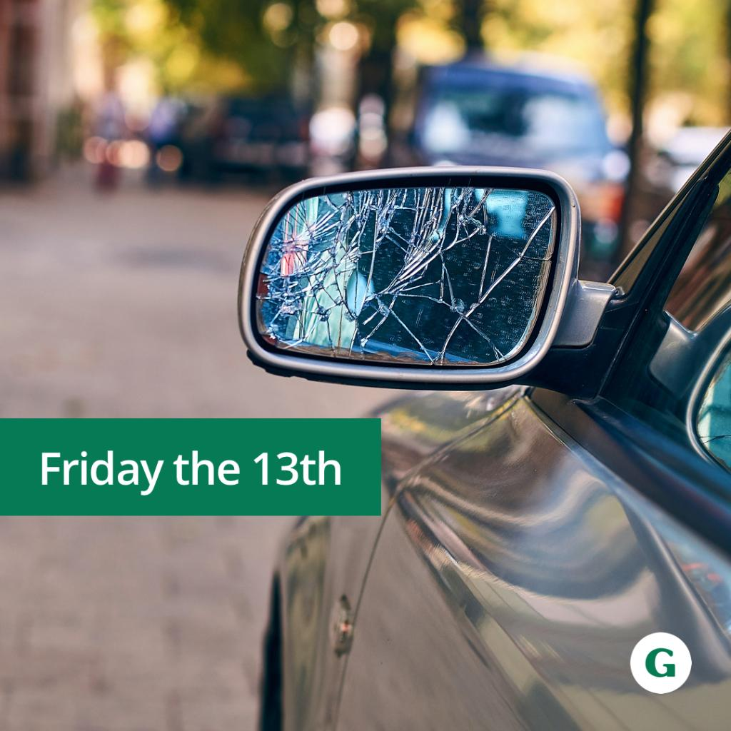 It's Friday the 13th 😱 Black cats, broken mirrors, spilled salt: What superstitions do you believe in?  #FridayThe13th #RideWIthTheGeneral