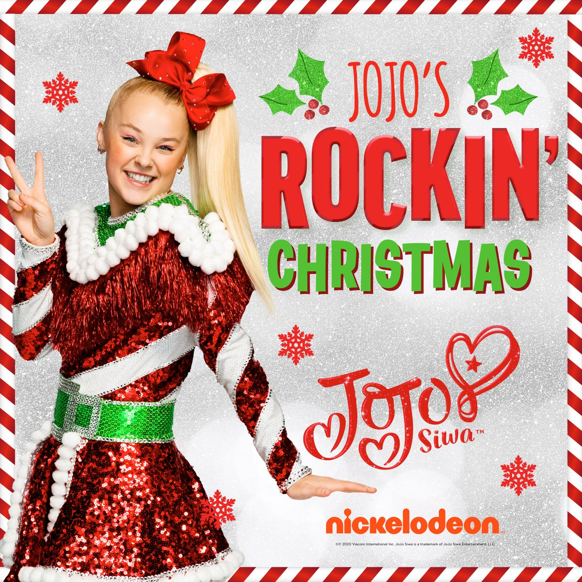 .@itsjojosiwa has a brand new Christmas EP out today! Available to stream here: