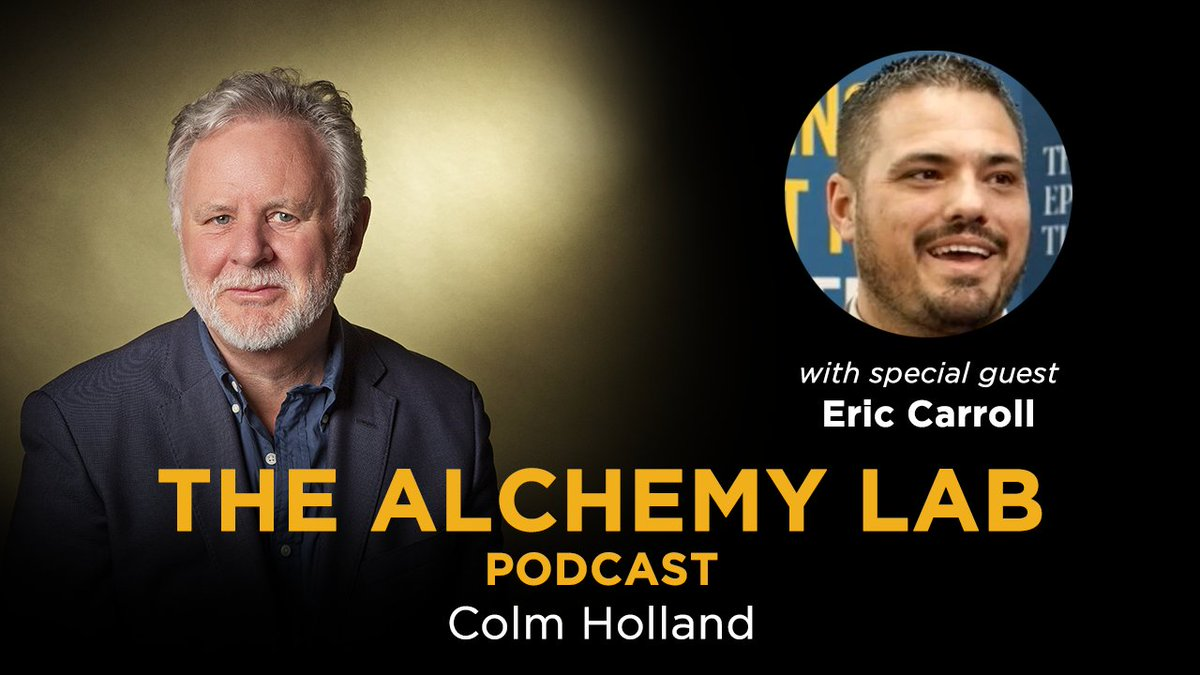 My latest podcast with the amazing all-round great guy and dad Eric Carroll - who is the host of the incredibly popular podcast @dadtalktoday! We about fatherhood and personal transformation and Eric's own journey.