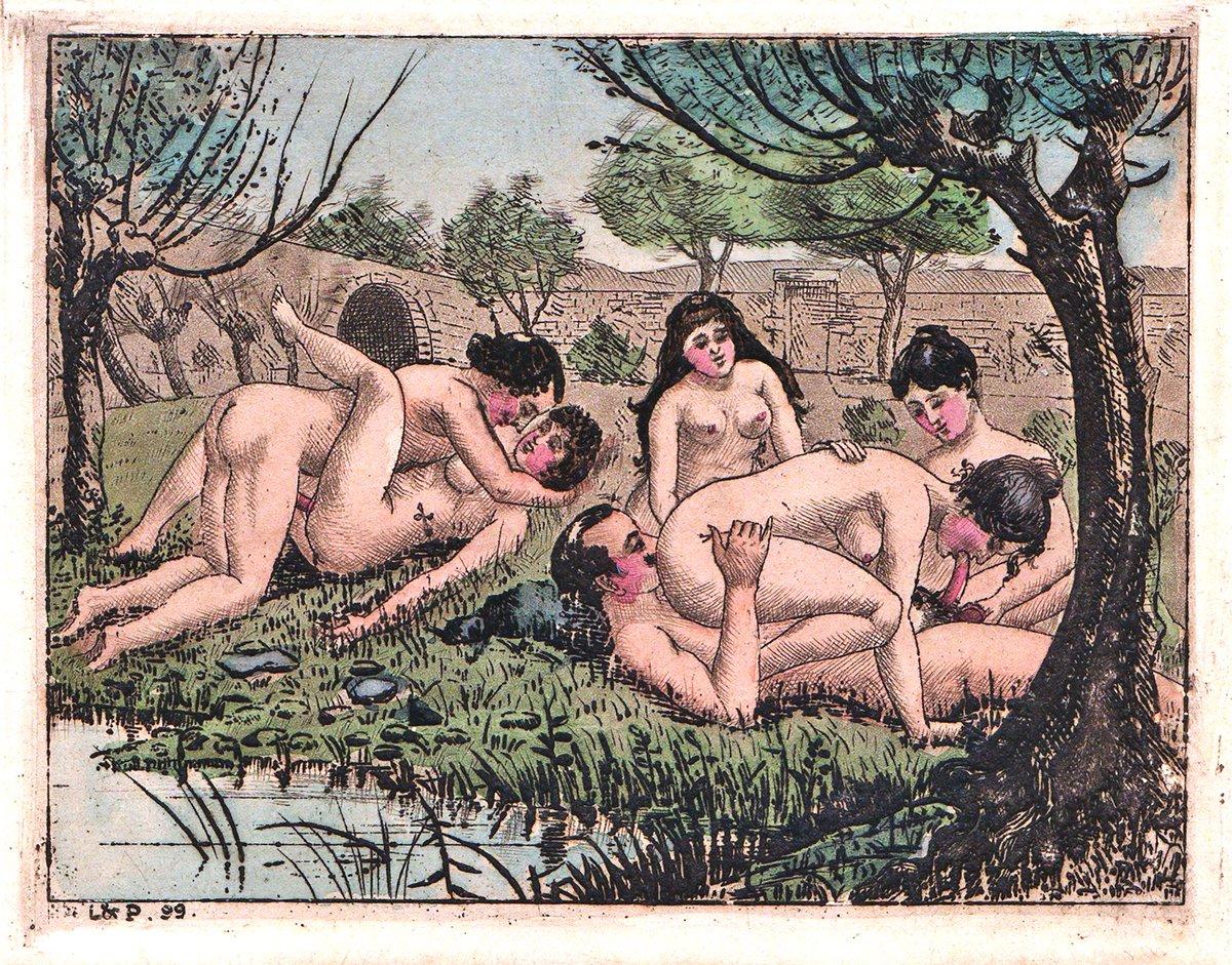 Bizarre erotic art of tab