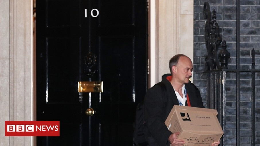 UK Prime Minister Boris Johnson's adviser Dominic Cummings leaves Number 10 Downing Street with immediate effect https://t.co/oDvJPePbZv https://t.co/9ICXJZ8azN
