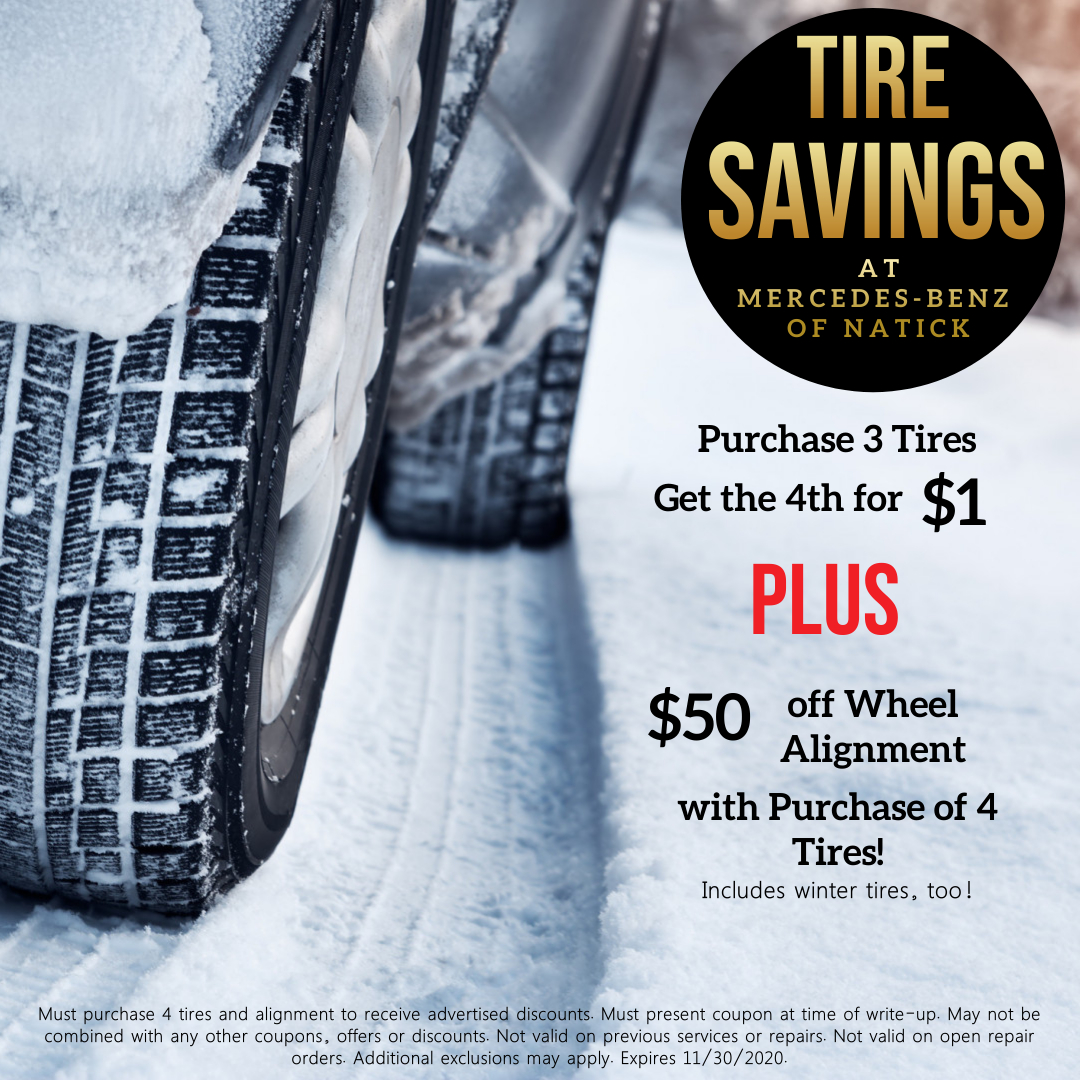 Check out this 🔥 offer I just got from our Service department! BIG savings on tires + an alignment to help make sure your @MercedesBenz is ready for winter! #wintersavings #winteriscoming #wintertires https://t.co/NkChf7j6QF