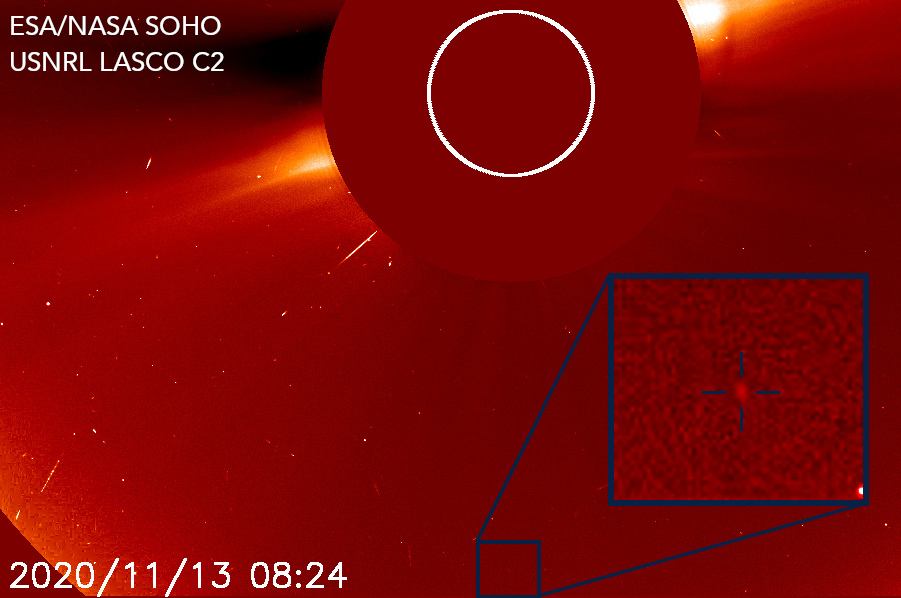 This makes me smile big! 😊 A new @ESA/@NASASun SOHO comet discovered today by *12-YR OLD* @RafalBiros! It's his 1st SOHO comet, and makes him the youngest SOHO comet discoverer... perhaps the youngest comet discoverer ever?! Huge congrats!! 🎉  That's how you @DoNASAScience!👏