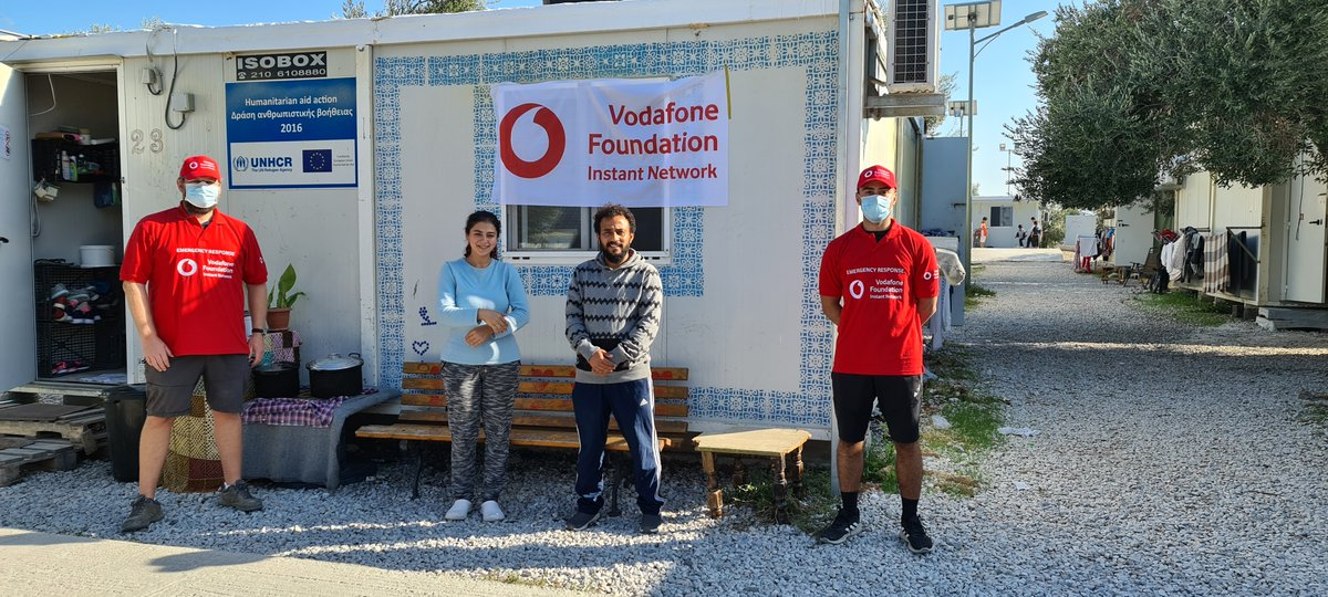 """Situations like these emphasise the importance of communications in crisis scenarios and the valuable role we can play.""   #InstantNetwork volunteer James D'Rozario shares his experience of his latest deployment to #Lesvos. 🇬🇷    @VodafoneGroup"