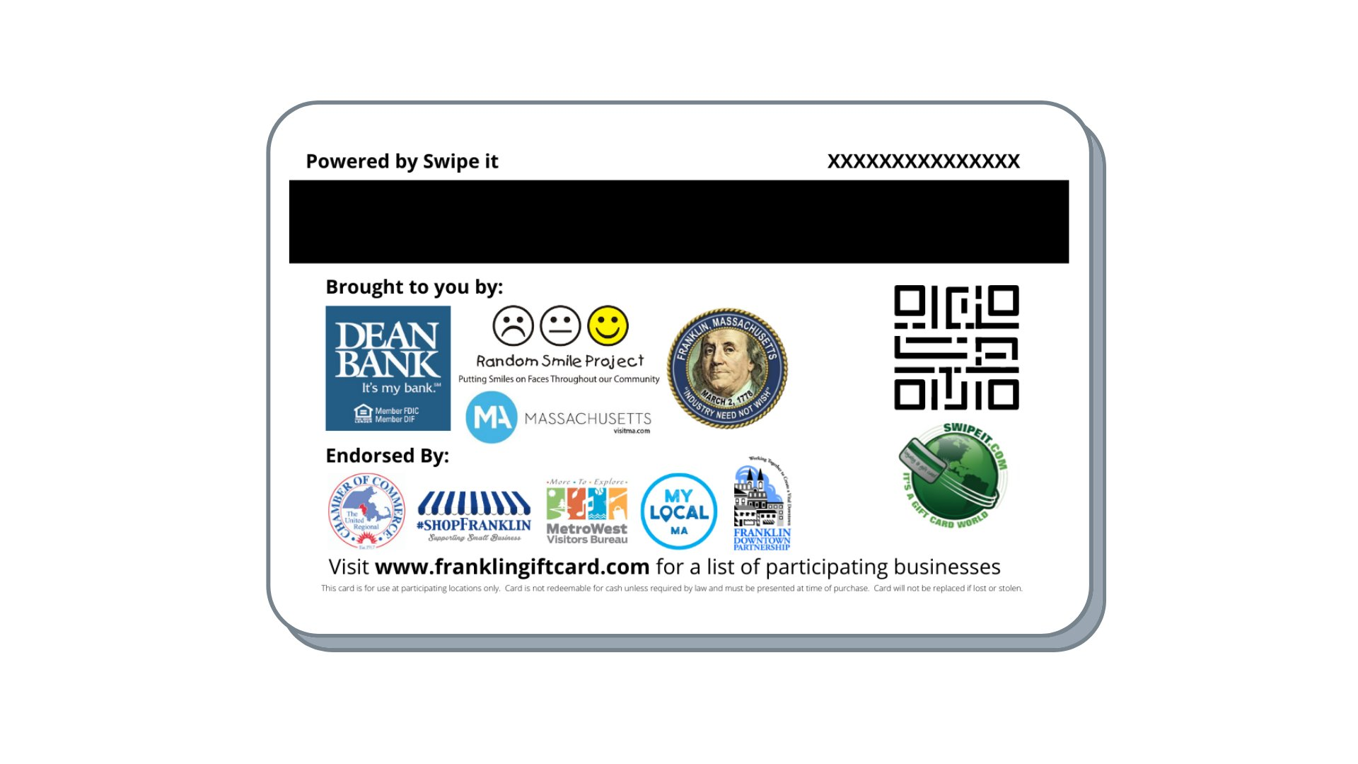 Think Franklin First gift cards coming Nov 25