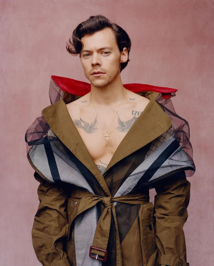 Harry Styles (Foto: Tyler Mitchell / Vogue)