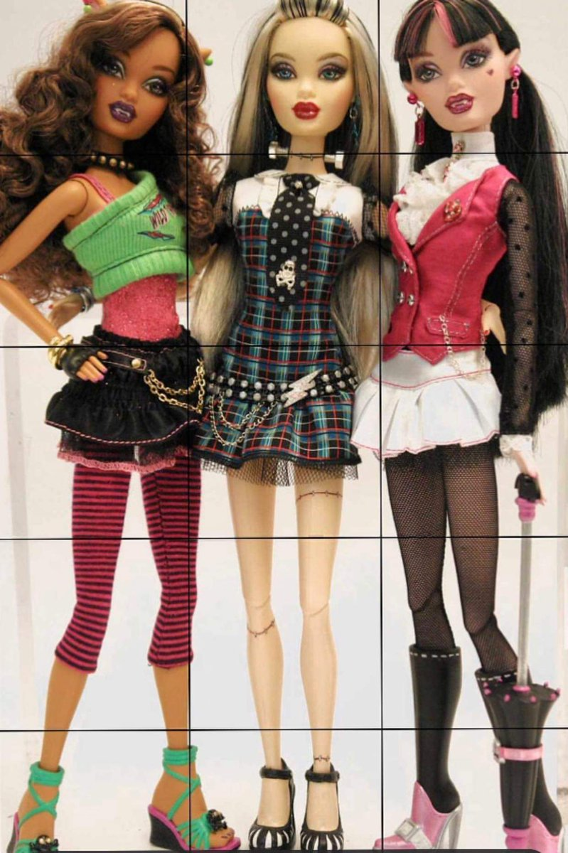 Image result for monster high prototype dolls