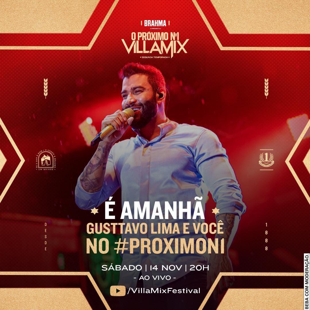 Eu ainda não consegui decidir o que vou cantar amanhã no #ProximoN1, o reality da @brahmacerveja e do @VillaMix. Me ajuda, BB? O que vocês querem ver?