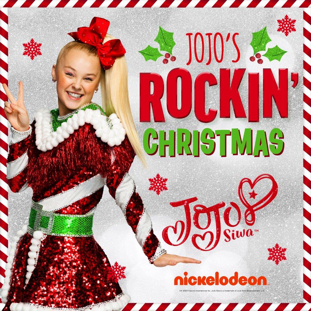 Get into the holiday spirit with JoJo's Rockin' Christmas out now 🎶🎄 @itsjojosiwa