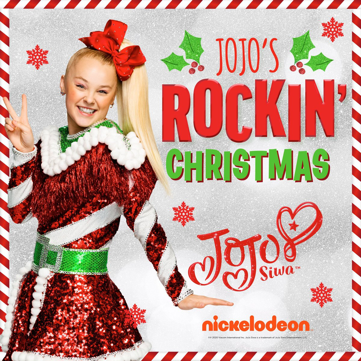 🎄.@itsjojosiwa has a brand new Christmas EP out today! Available to stream here: