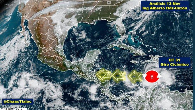 Iota podría convertirse en huracán categoría 3