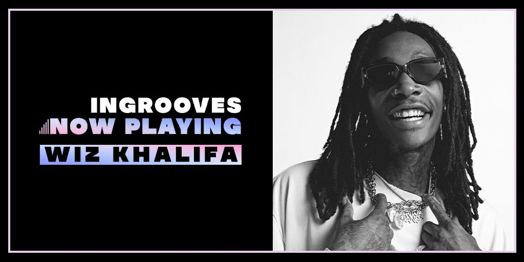 """.@wizkhalifa's iconic track """"The Thrill"""" is now available on all streaming platforms, check it out and more Ingrooves releases on our Now Playing playlist:  @RostrumRecords"""