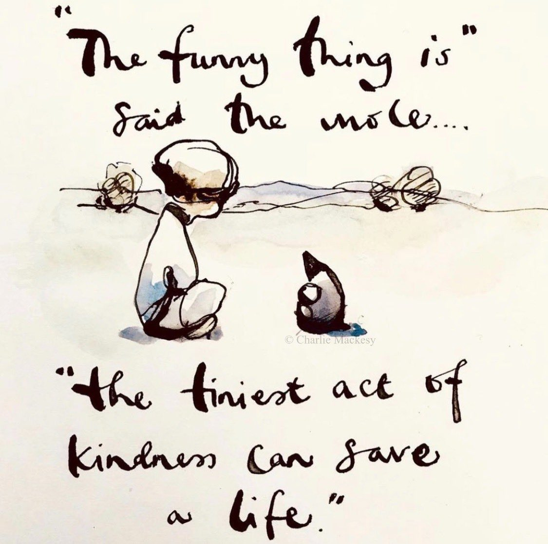 It's World Kindness Day.