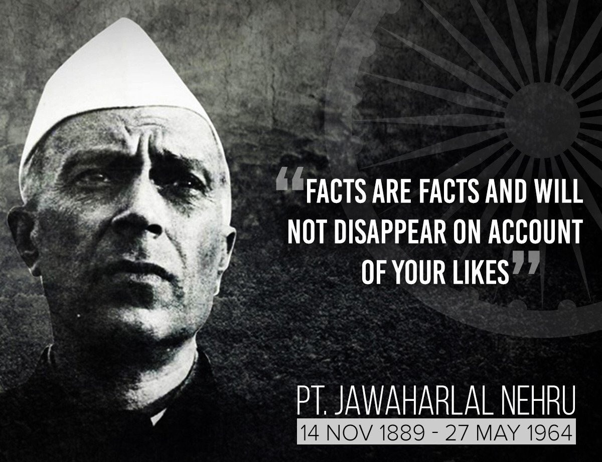 @RahulGandhi On Pandit Nehru's birth anniversary, the best way for us to honor him is to rededicate ourselves to democracy, secularism and socialism.  These were the main values ​​he believed in and for which he devoted his life.   This value binds the nation. #Nehru