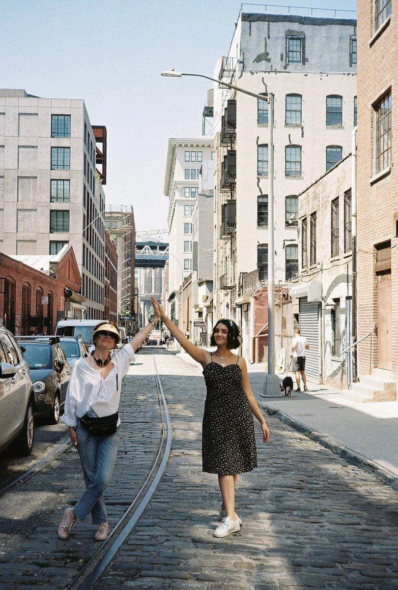 Filming in Brooklyn was so fun ‼️ @nataliekrinsky #BrokenHeartsWatchParty