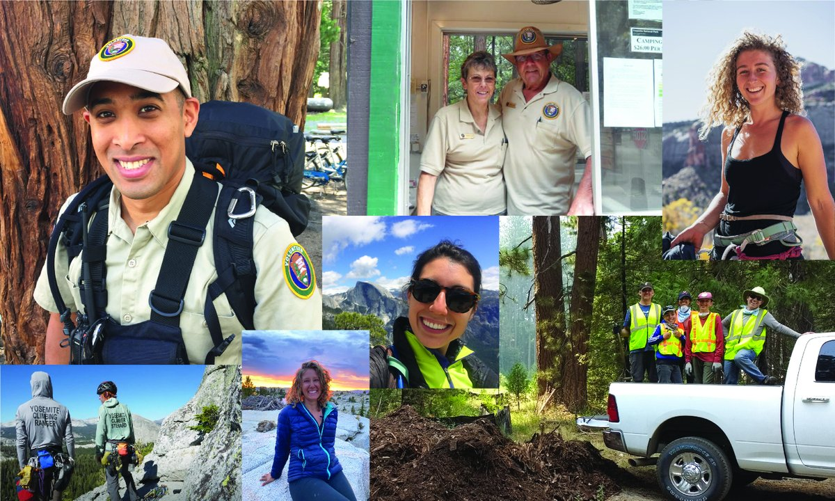 🧢 Hats off to volunteers! Despite the many challenges of 2020, over 5,000 individuals donated more than 70,000 hours of their time to serve Yosemite in countless ways.  Special congrats to recipients of the 2020 Volunteer of the Year awards: https://t.co/zccLIESqgT https://t.co/ykobvl2qoy