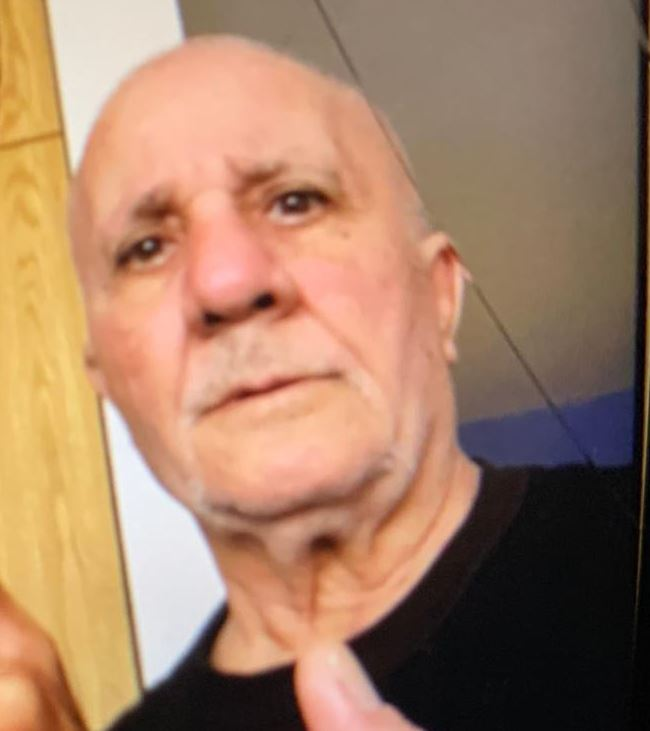 MISSING: Gabriel Ashour, 63 - Last seen November 13, 12:30 pm, Humber College Bl + Hwy 27 - 55, thin grey hair, medium build - Black Chicago Blackhawks sweater, blue shirt, blue jeans - Black/white running shoes, blue face mask #GO2155171 ^dh
