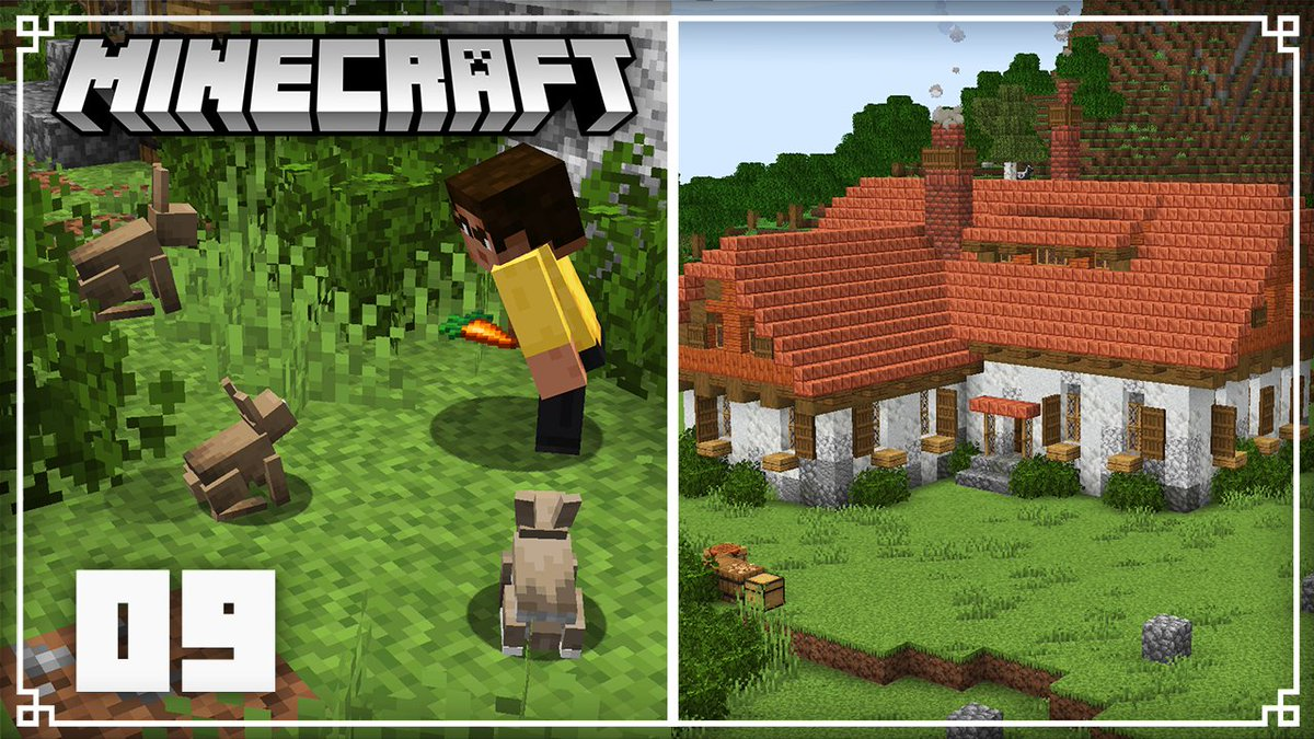 JermsyBoy - New Singleplayer episode! Today we're working on a rabbit farm using a bunch of the new 1.17 blocks, enjoy!
