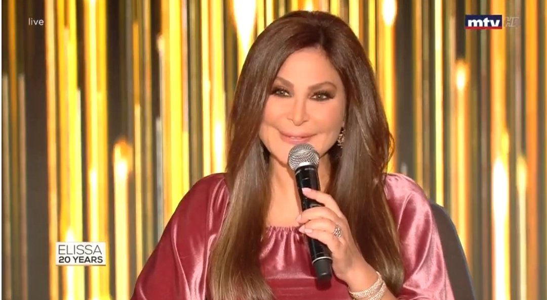 You're so beautiful, you're so talented, you have an amazing voice, You're a true legend ❤️😍 @elissakh ❤️💕 I love you soooo much allous #sahbetraey #إليسا  #Elissa20Years