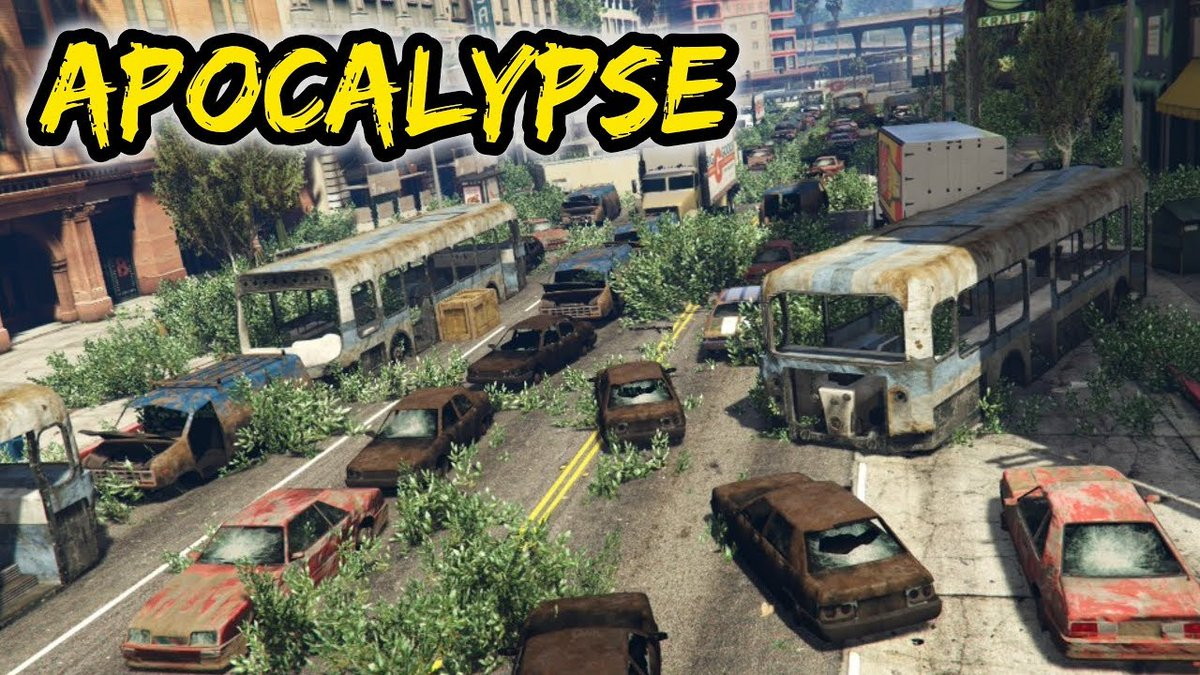 GTA Online Player Job Spotlight:  In the dystopian vision of Apocalypse created by @Voltyc_YT, nature has reclaimed the streets of Los Santos and survival has degenerated into a dog-eat-dog bloodbath on Xbox One: