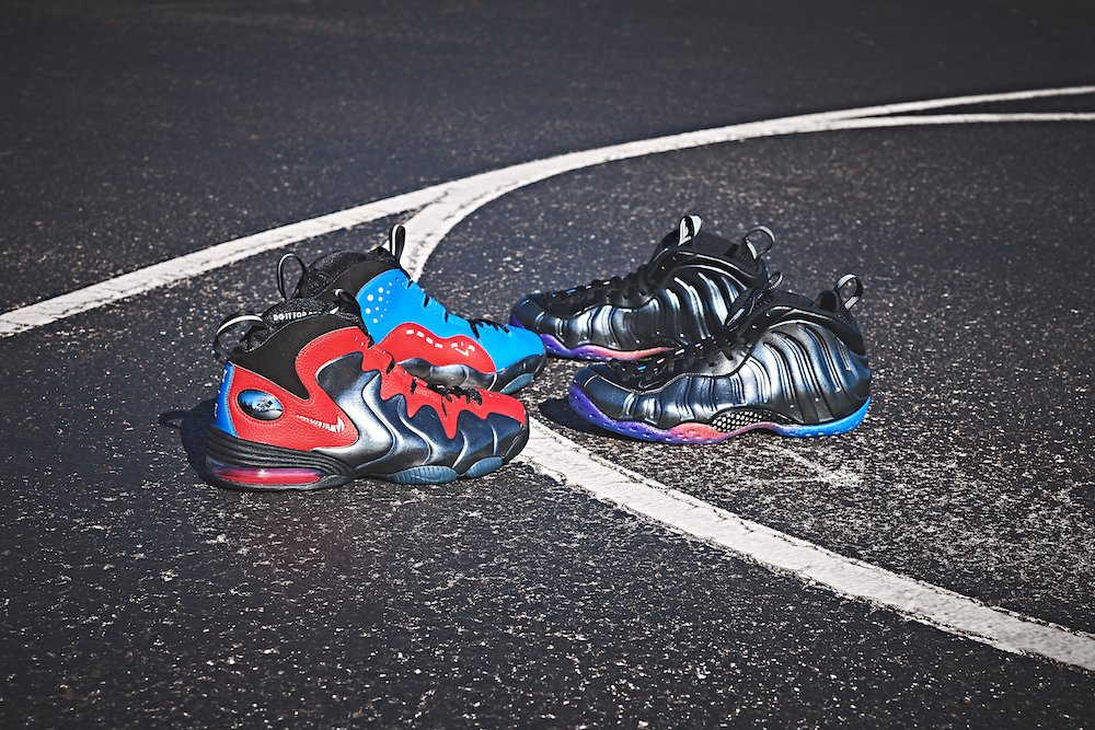 Nike Air Foamposite One Metallic Red White And Black ...