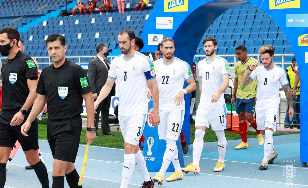 Uruguay Noma!!! gran trabajo de equipo y el equipo por encima de todo!!! 🇺🇾💪 #ElEquipoQueNosUne