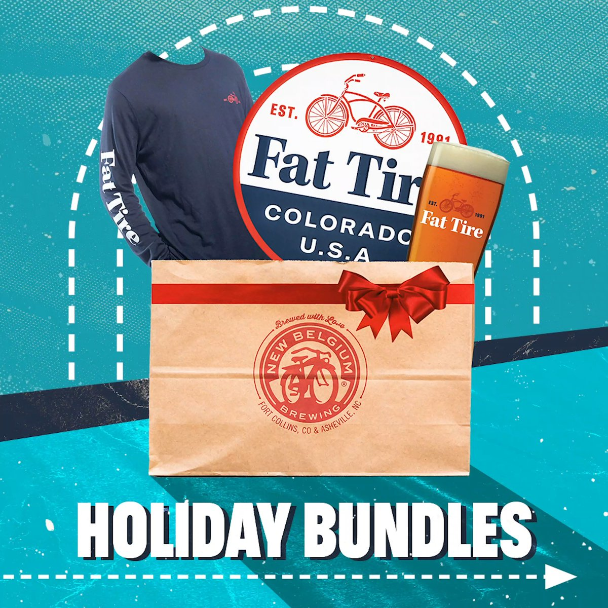 Consider your holiday shopping done 🎁 We've curated the perfect kits for the beer-lover on your list this year. Whether you're shopping for the die-hard Voodoo Ranger fan or the classic Fat Tire fanatic, weve got you covered. newbelgium.com/shop/all-produ…